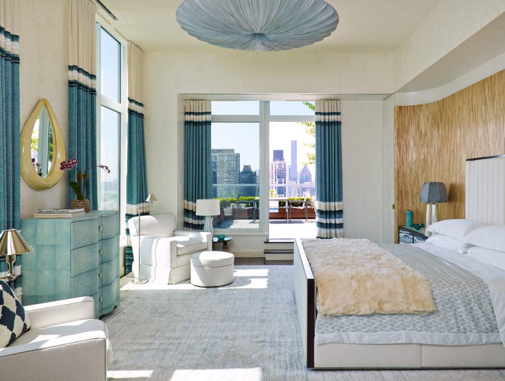 Upper East Side Penthouse Master Bedroom
